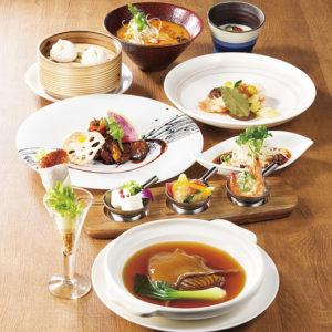 夜景を望みながらのお食事に、ルーキスガーデン恵比寿の中国料理
