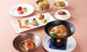 恵比寿にある中華料理店のふかひれコース